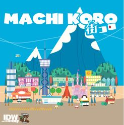 Machi Koro box cover art