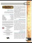 RPG Item: Dry Spell
