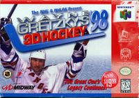 Video Game: Wayne Gretzky's 3D Hockey 98