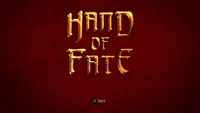 Video Game: Hand of Fate