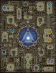 RPG Item: VTT Map Set 056: The Cypher: Source of Ley Lines