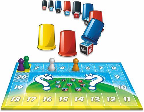 Board Game: Memo Dice
