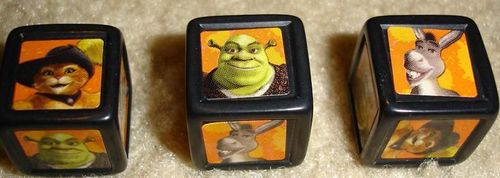 Board Game: Shrek 2: The Twisted Fairy Tale Game