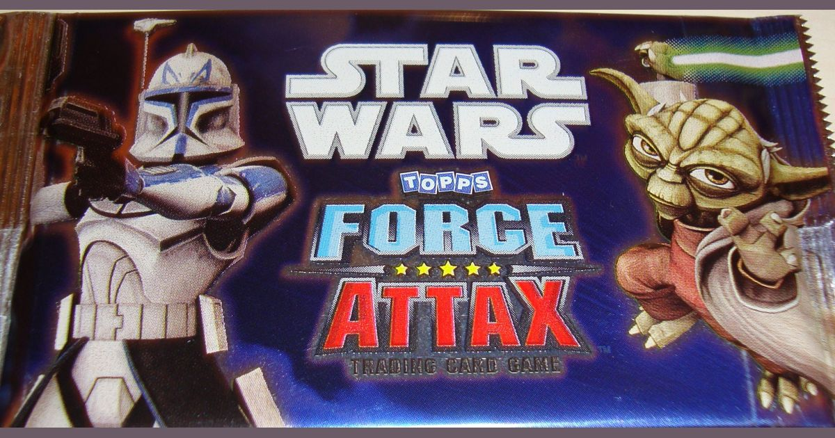 Star Wars Force Attax Board Game Boardgamegeek