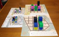 Board Game: Town Center: Expansion n°2