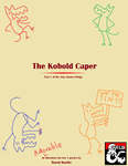 RPG Item: Tiny Justice 1: The Kobold Caper