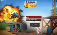 Video Game: Bridge Constructor Stunts