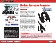 Issue: Modern Dispatch (Issue 29 - 2005)