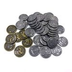 Board Game Accessory: Feudum: Metal Coins