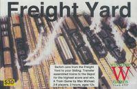 Board Game: Freight Yard