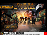 Video Game: Call of Mini: Zombies