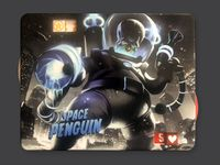 Board Game Accessory: King of Tokyo/King of New York: Dark Space Penguin (promo character)