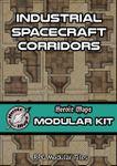RPG Item: Heroic Maps Modular Kit: Industrial Spacecraft Corridors
