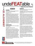 RPG Item: Undefeatable 22: Alchemist