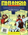 RPG Item: Paranoia Form Pack