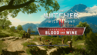 Video Game: The Witcher 3: Wild Hunt – Blood and Wine