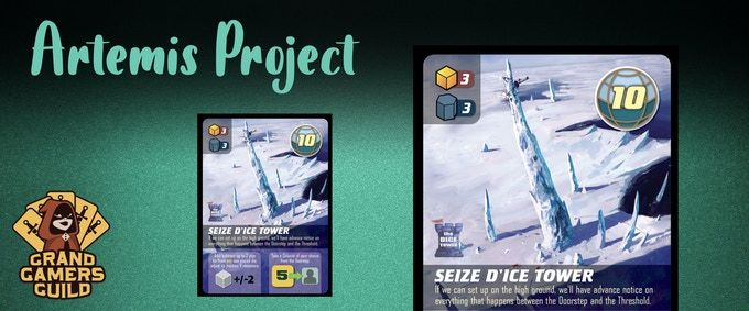 The Artemis Project: Seize D'Ice Tower Promo Card
