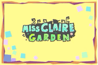Video Game: Miss Claire Garden