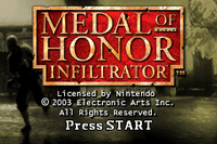 Video Game: Medal of Honor: Infiltrator