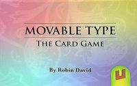Board Game: Movable Type