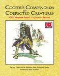RPG Item: Cooper's Compendium of Corrected Creatures: OGL Monster Stats L – S (Lamia – Swarm)