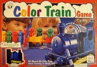 Board Game: Color Train Game