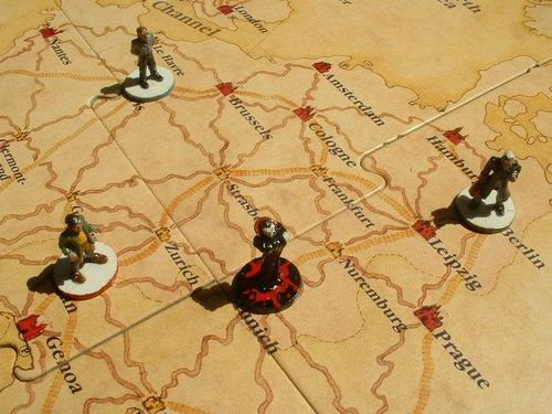 Board Game: The Fury of Dracula