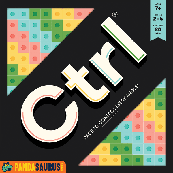 Ctrl, Pandasaurus Games, 2020 — front cover (image provided by the publisher)