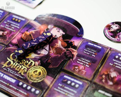 Board Game: Dice Throne: Season Two – Cursed Pirate v. Artificer