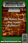 RPG Item: 1915 Modern House Plan Layouts Collection 1