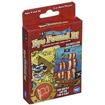 Eye Found It: Journey Through Time Card Game