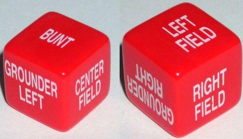 Board Game: Sports Dice: Baseball