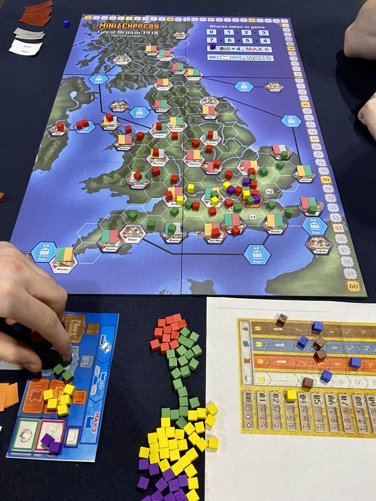 Board Game: Mini Express Map Pack 1: Taiwan & United Kingdom