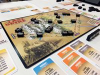 A three player game in progress.