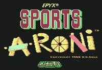 Video Game: Sports-A-Roni