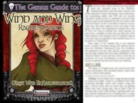 RPG Item: The Genius Guide to: Wind and Wing Racial Options