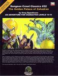 RPG Item: DCC #032: The Golden Palace of Zahadran