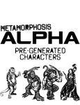 RPG Item: Metamorphosis Alpha Pregenerated Characters