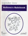 RPG Item: Legendary Lives Referee's Rulebook