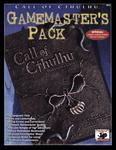 RPG Item: d20 Call of Cthulhu Gamemaster's Pack