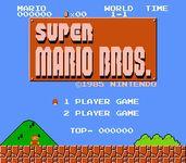Video Game: Super Mario Bros.