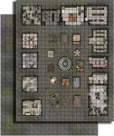 RPG Item: GameMastery Flip-Mat: City Market