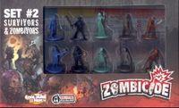 Board Game: Zombicide: Set #2 – Survivors & Zombivors