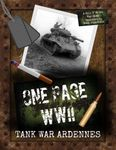 Board Game: One Page WWII: Tank War Ardennes