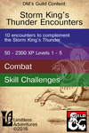 RPG Item: Limitless Encounters: Storm King's Thunder Encounters