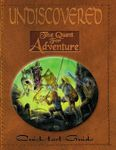 RPG Item: Undiscovered: The Quest for Adventure Quickstart Guide