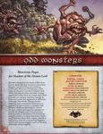 RPG Item: Odd Monsters