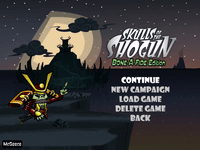 Video Game: Skulls of the Shogun
