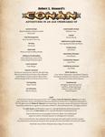 RPG Item: Conan the Mercenary