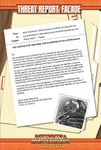 RPG Item: Threat Report #18: Facade